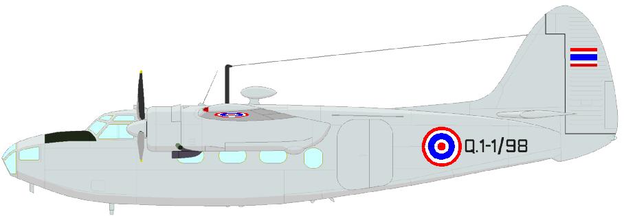 Profil couleur du Percival P-50 Prince / P-57 Sea Prince