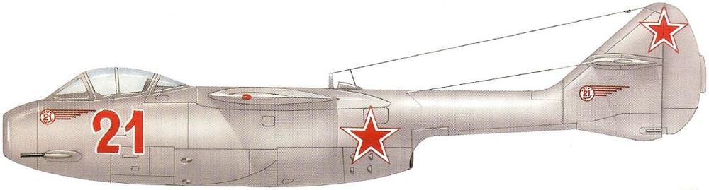 Profil couleur du Lavotchkin La-150