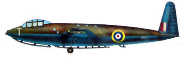 Profil couleur du General Aircraft G.A.L. 48 Hotspur