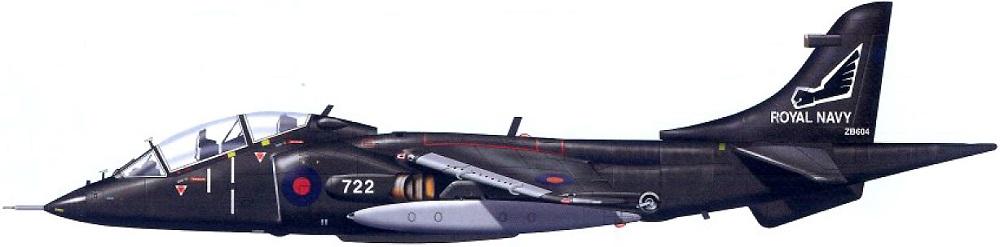 Profil couleur du Hawker-Siddeley Harrier T.2