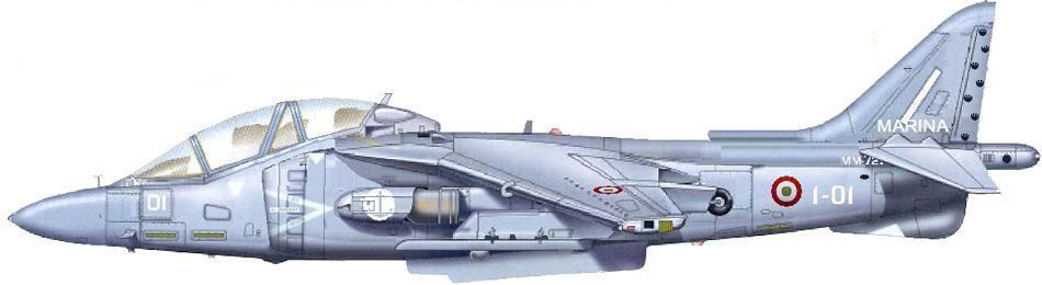Profil couleur du McDonnell-Douglas TAV-8B Harrier II