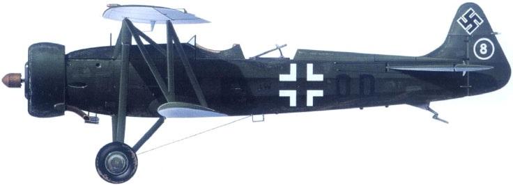 Profil couleur du Fokker C.V