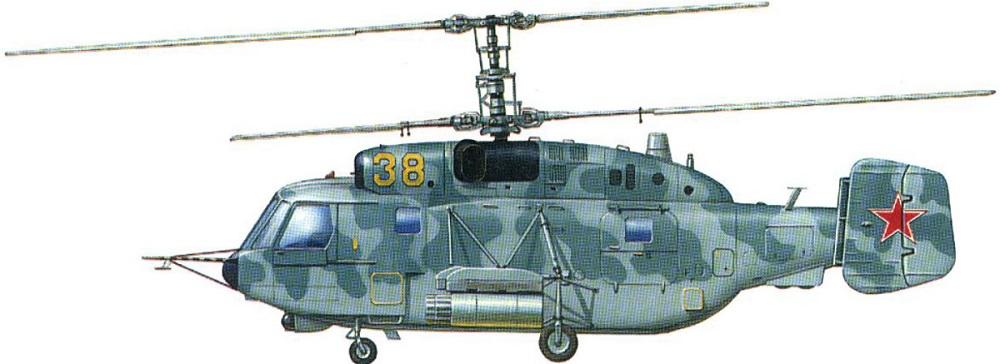 Profil couleur du Kamov Ka-29 'Helix-B'