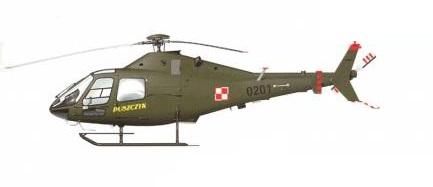 Profil couleur du P.Z.L. SW-4 Puszczyk