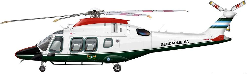 Profil couleur du Agusta-Westland AW.169