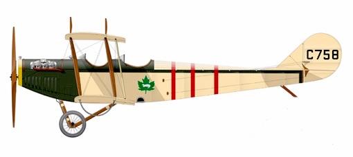 Profil couleur du Canadian Aeroplanes JN-4CA Canuck