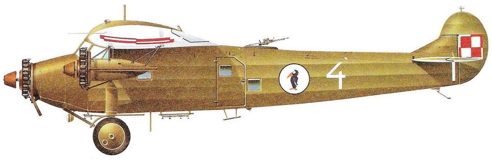 Profil couleur du Fokker F.VII