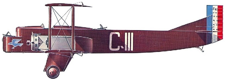 Profil couleur du Farman F.60 Goliath