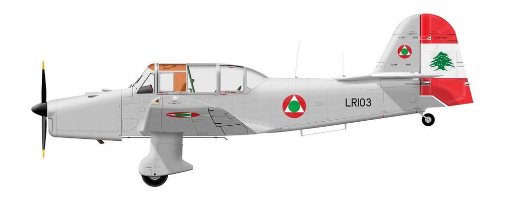 Profil couleur du Percival P-40 Prentice