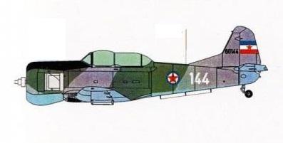 Profil couleur du Soko 522