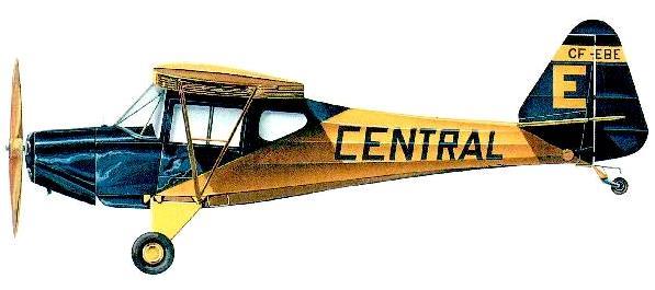 Profil couleur du Fleet 80 Canuck