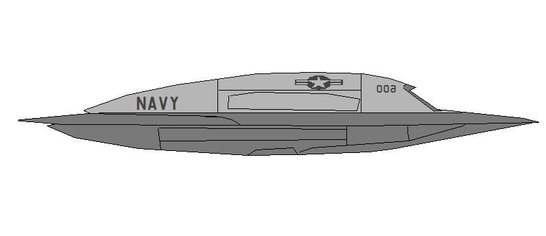 Profil couleur du Northrop Grumman X-47B