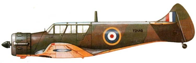 Profil couleur du Airspeed AS.45 Cambridge