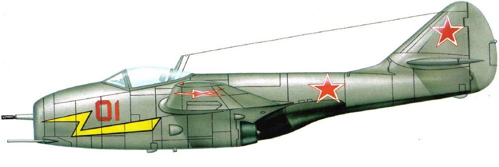Profil couleur du Mikoyan-Gurevitch MiG-9 'Fargo'