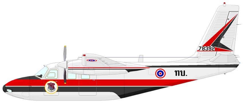 Profil couleur du Aero Commander L-26/RL-26