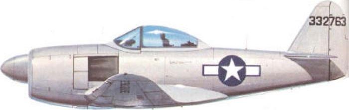 Profil couleur du Curtiss XP-60