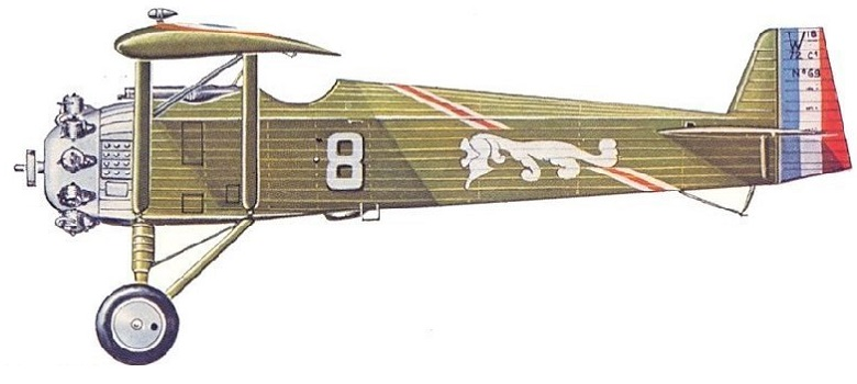 Profil couleur du Wibault Wib.7