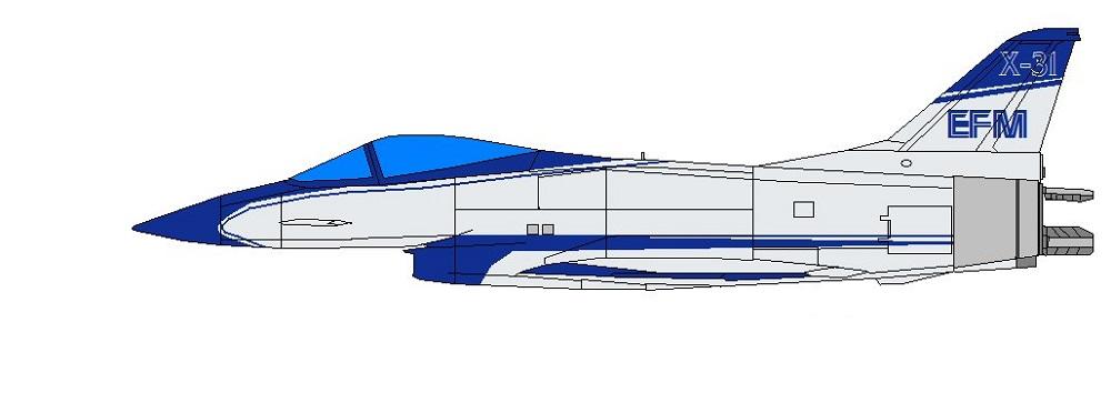 Profil couleur du Rockwell / MBB X-31 Vector