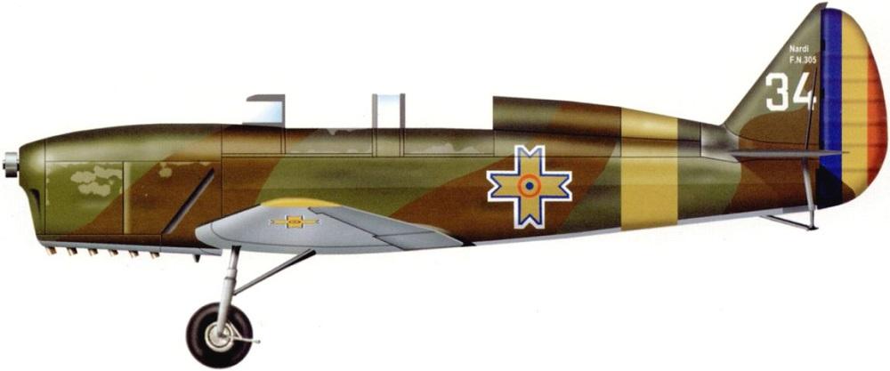 Profil couleur du Nardi FN.305