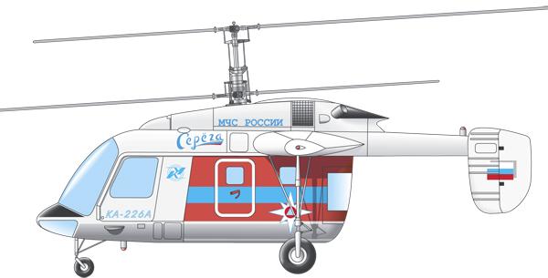 Profil couleur du Kamov Ka-226 'Hoodlum-C'