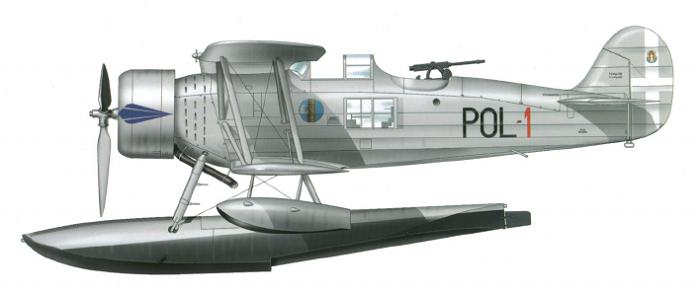 Profil couleur du Meridionali Ro.43