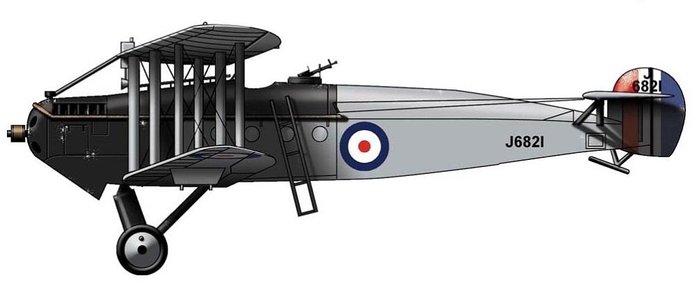 Profil couleur du Avro Aldershot