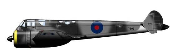 Profil couleur du Gloster G.39