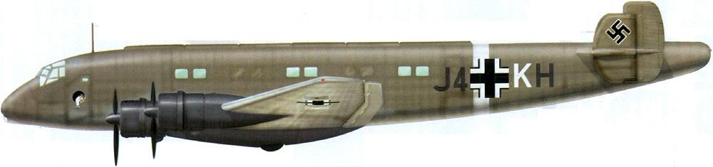 Profil couleur du Junkers Ju 90