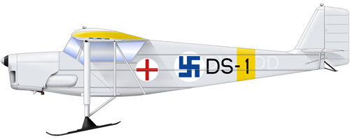 Profil couleur du Desoutter Mark I / Mark II