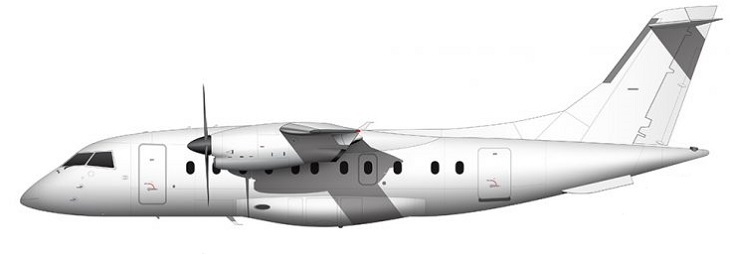 Profil couleur du Dornier Do 328