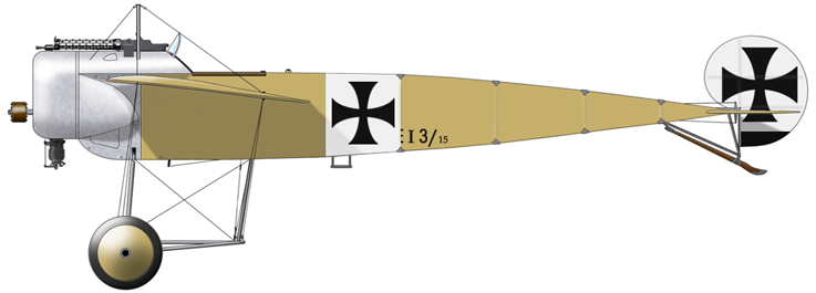 Profil couleur du Fokker M.5