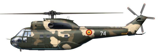 Profil couleur du I.A.R. IAR-330 Socat