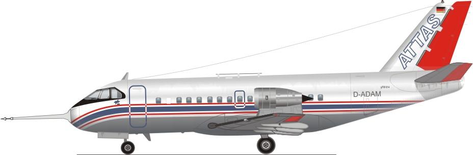 Profil couleur du VFW Type 614