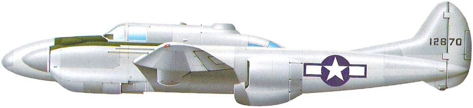 Profil couleur du Lockheed XP-58 Chain Lightning