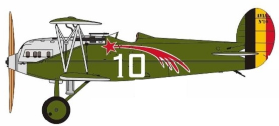 Profil couleur du Avia BH-21