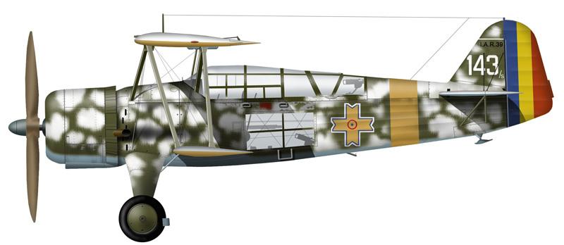 Profil couleur du I.A.R. IAR-37