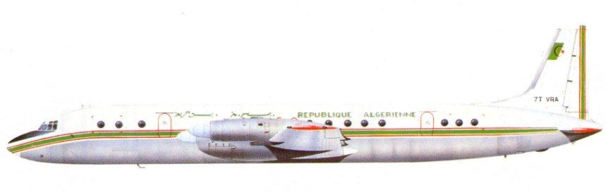 Profil couleur du Ilyushin Il-18 'Coot'