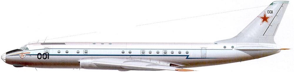 Profil couleur du Tupolev Tu-104 'Camel'