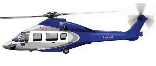 Profil couleur du Airbus Helicopters H175