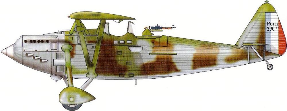 Profil couleur du Potez 39