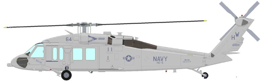 Profil couleur du Sikorsky MH-60 Knighthawk