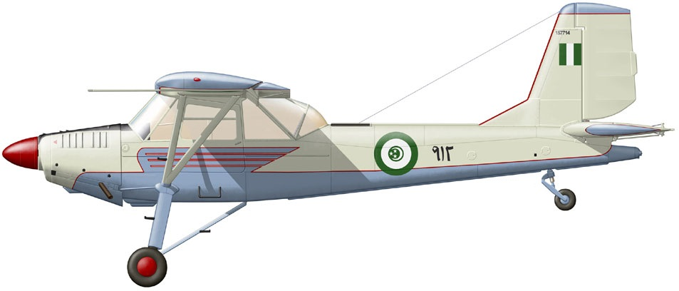 Profil couleur du Aero L-60 Brigadýr