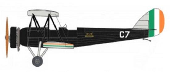 Profil couleur du Avro Cadet
