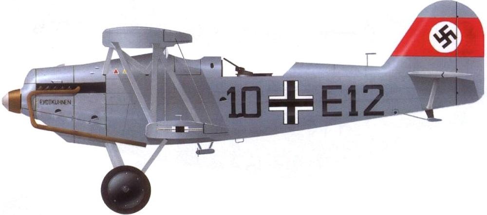 Profil couleur du Heinkel He 45