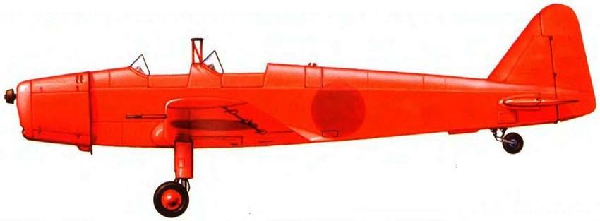 Profil couleur du Tokyo Koku Ki-107