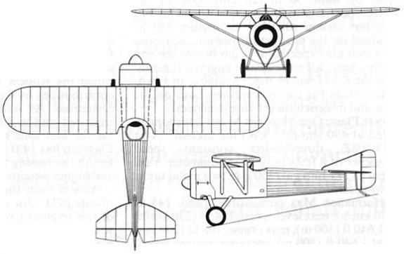 Plan 3 vues du IVL C.24