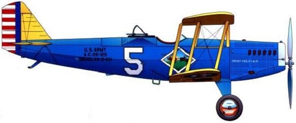 Profil couleur du Douglas O-2