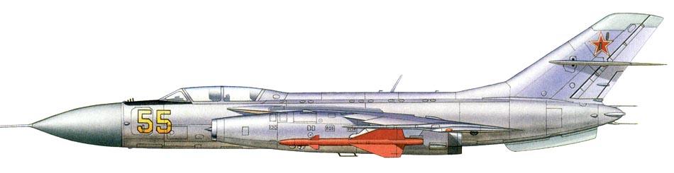Profil couleur du Yakovlev Yak-28 'Firebar'