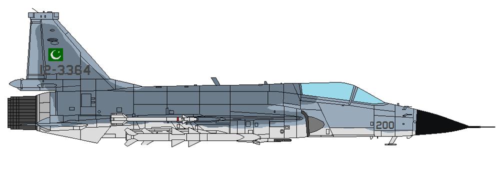 Profil couleur du Chengdu/PAC JF-17 Thunder
