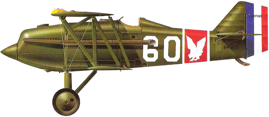 Profil couleur du Curtiss PW-8 Hawk